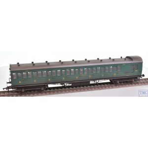 39-623 Bachmann OO Gauge SE&CR 60ft Birdcage Brake Third SR Malachite Green