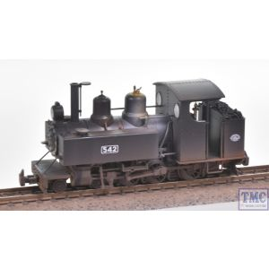391-025A Bachmann OO Gauge Baldwin 10-12-D Tank 542 Railway Operating Division Black