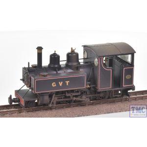 391-029 Bachmann OO Gauge Baldwin 10-12-D Tank Glyn Valley Tramway Lined Black
