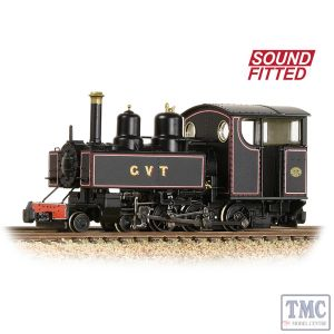 391-029SF Narrow Gauge OO9 Gauge Baldwin 10-12-D Tank Glyn Valley Tramway Lined Black