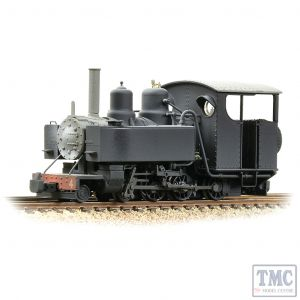 391-030 Bachmann OO9 Narrow Gauge Baldwin 10-12-D Tank No. 4 Snailbeach District Railways Black - Weathered