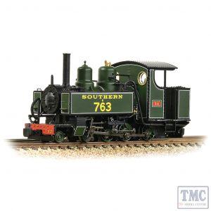 391-032 Bachmann OO9 Narrow Gauge Baldwin 10-12-D Tank E763 'Sid' SR Maunsell Green