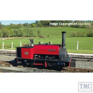 391-050 Bachmann OO9 Narrow Gauge Quarry Hunslet 0-4-0 Tank 'Alice' Dinorwic Quarry Red
