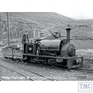 391-052 Bachmann OO9 Narrow Gauge Quarry Hunslet 0-4-0 Tank 'Nesta' Penrhyn Quarry Lined Black