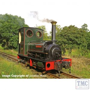 391-053 Bachmann OO9 Narrow Gauge Quarry Hunslet 0-4-0 Tank 'Dorothea' Dorothea Quarry Lined Green