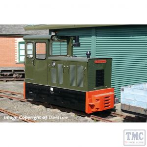 392-026 Bachmann OO9 Narrow Gauge Baguley-Drewry 70hp Diesel Green