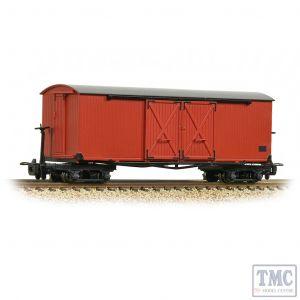 393-027 Bachmann OO9 Narrow Gauge Bogie Covered Goods Wagon Lincolnshire Coast L. R. Crimson