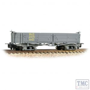 393-050A Bachmann OO9 Narrow Gauge Open Bogie Wagon WD Grey