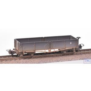 393-051A Bachmann OO9 Narrow Gauge Open Bogie Wagon Nocton Estates L. R. Grey - Weathered