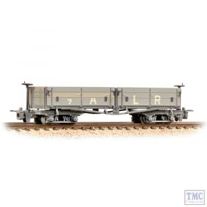 393-052 Bachmann OO9 Narrow Gauge Open Bogie Wagon Ashover Railway Light Grey Weathered