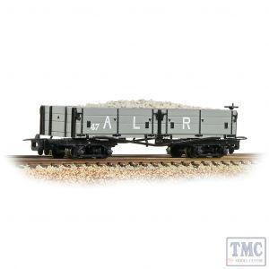 393-052A Bachmann OO9 Narrow Gauge Open Bogie Wagon Ashover L. R. Grey - Includes Wagon Load