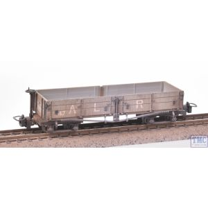 393-052A Bachmann OO9 Narrow Gauge Open Bogie Wagon Ashover L. R. Grey - Includes Wagon Load