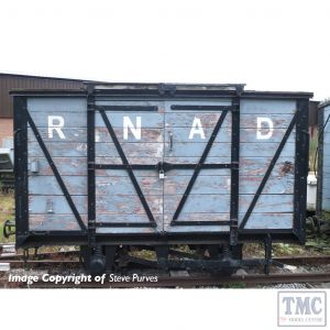 393-125 Bachmann OO9 Narrow Gauge RNAD Van RNAD Grey