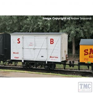 393-127 Bachmann OO9 Narrow Gauge RNAD Van Statfold Barn Railway White 'MICA B'