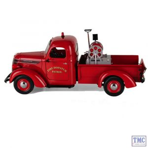 40-0338 First Gear 1:25 SCALE 1938 International D-2 Pickup 'Fire Dispatch Patrol'
