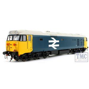 4021 Heljan Class 50 BR large logo blue - unnumbered O gauge