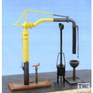 413 Ratio Water Crane & Fire Devil OO Gauge Plastic Kit