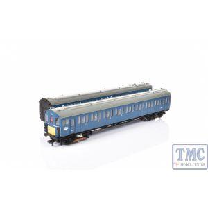 31-375A Bachmann OO/HO Gauge Class 416 2 Car EMU BR Blue Weathered