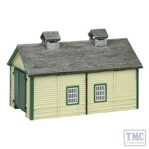 42-0029 Scenecraft N Scale Wooden Engine Shed