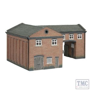 42-0086 Scenecraft N Scale Industrial Gate House