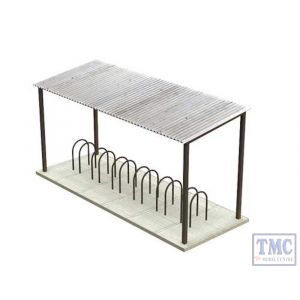 42-035 Scenecraft N Gauge Bicycle Rack