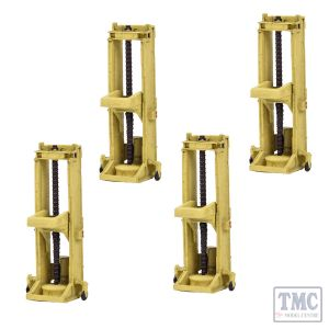 42-042 Scenecraft N Scale Lifting Jacks (x4)