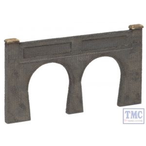 42-228 Scenecraft N Gauge Low Relief Double Track Tunnel Portal