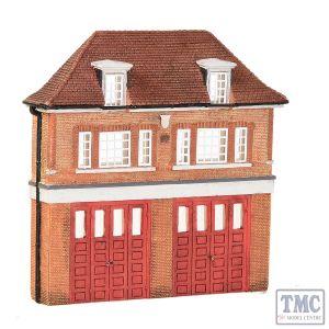42-240 Scenecraft N Gauge Low Relief Fire Station
