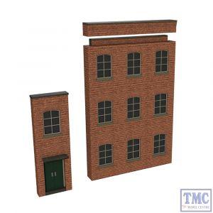 42-290 Scenecraft N Gauge Low Relief Modular Mill Entrance