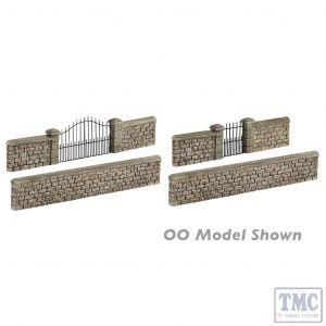 42-555 Scenecraft N Gauge Stone Walls and Gates