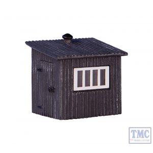 42-558 Scenecraft N Gauge Corrugated Metal Shed