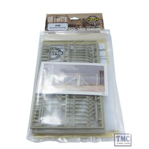 436 Ratio Security Fencing OO Gauge Plastic Kit
