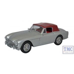 43AMDB2004 Oxford Diecast O Gauge Aston Martin DB2 MkIII DHC Snow Shadow Grey