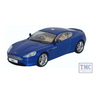 43AMDB9003 Oxford Diecast O Gauge Aston Martin DB9 Coupe Cobalt Blue