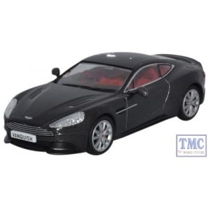 43AMV003 Oxford Diecast 1:43 Scale Aston Martin Vanquish Coupe Quantum Silver
