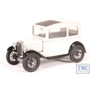 43ASS006 Oxford Diecast O Gauge Austin Seven RN Saloon Light Grey