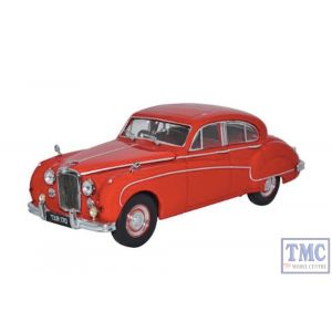 43JAG8004 Oxford Diecast O Gauge Jaguar MKVIII Carmen Red