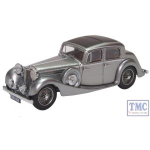 43JSS007 Oxford Diecast 1:43 Scale  SS Jaguar Gunmetal