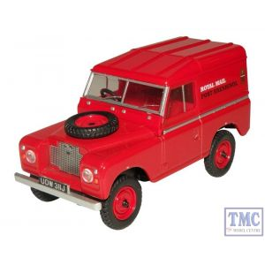 43LR2AS001 Oxford Diecast O Gauge Land Rover Series IIA SWB Hard Top  Royal Mail (PO Recovery)