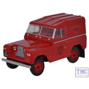 43LR2S001 Oxford Diecast 1:43 Scale Land Rover Series II SWB Hard Back Royal Mail Land Rover Series II