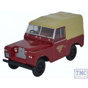 43LR2S002 Oxford Diecast 1:43 Scale O Gauge Land Rover Series II SWB Canvas British Rail