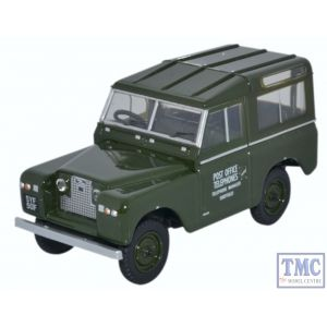43LR2S003 Oxford Diecast 1:43 Scale O Gauge Land Rover Series II SWB Hard Back Post Office Telephones