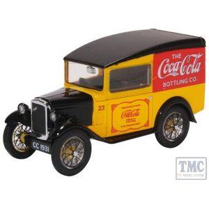 43ASV008CC Oxford Diecast O Gauge Austin Seven Van Coca Cola