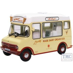 43CF002 Oxford Diecast O Gauge Bedford CF Ice Cream Van/Morrison Hockings