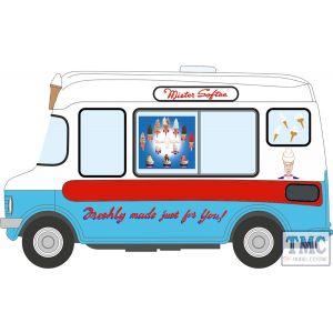 43CF003 Oxford Diecast 1:43 Scale O Gauge Bedford CF Ice Cream Van/Morrison Mr Softee