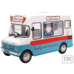 43CF003 Oxford Diecast 1:43 Scale O Gauge Bedford CF Ice Cream Van/Morrison Mr Softee