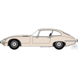 43JAGV12006 Oxford Diecast O Gauge 1:43 Scale Jaguar V12 E Type Coupe Old English White