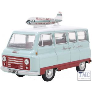 43JM024 Oxford Diecast O Gauge Morris J2 Van Skyways