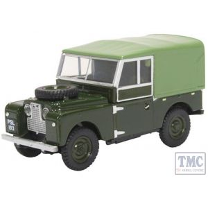 43LAN188024 Oxford Diecast O Gauge Land Rover Series I 88 Canvas Bronze Green (Plimsoll)