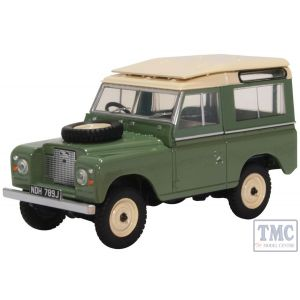 43LR2AS003 Oxford Diecast 1:43 Scale Land Rover Series IIa SWB Station Wagon Pastel Green
